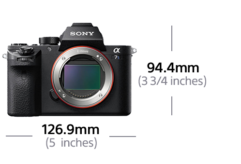 55b3f442c495d Câmara Tipo E Full Frame a7S com Gravação de Vídeo 4K   12.2 MP ...