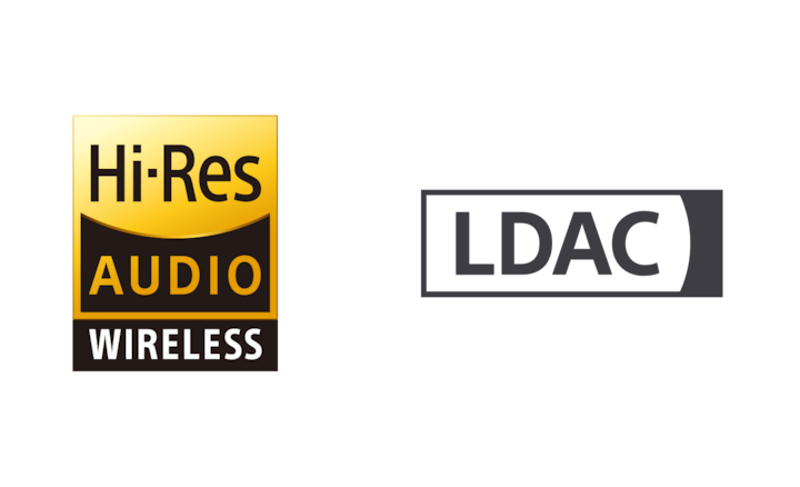 Logótipo de Áudio Hi-Res Wireless e LDAC