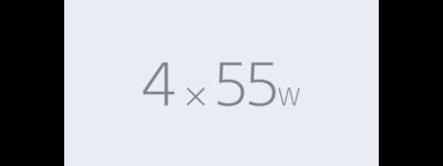 Ícone de 4 x 55 W do DSX-A410B