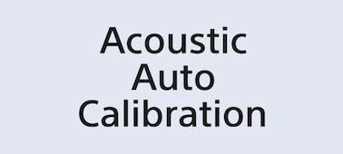 Logótipo Acoustic Auto Calibration