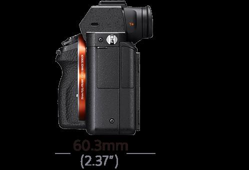 8bb4e48565ee3 Imagem de α7R II com sensor de imagem full-frame com retroiluminação